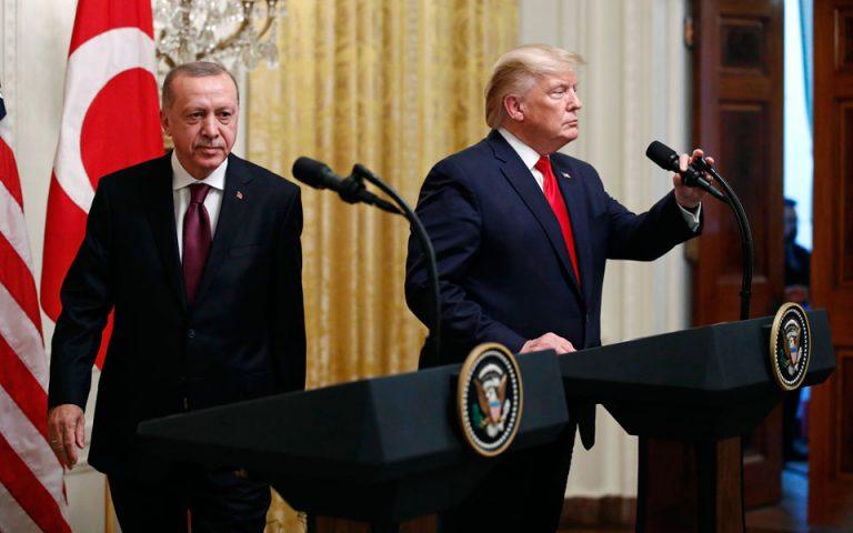 Ερντογάν: Απολύτως απαράδεκτο το σχέδιο Τραμπ για το Μεσανατολικό