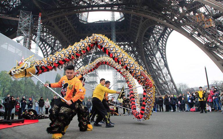 Το Παρίσι ακυρώνει την παρέλαση για την κινεζική Πρωτοχρονιά λόγω κοροναϊού