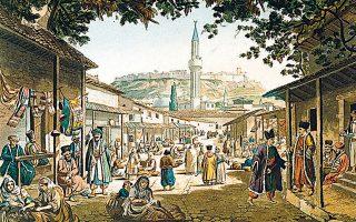Το παζάρι της Αθήνας τότε που ήταν το κέντρο της καθημερινότητας.