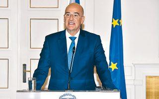 «Η Ελλάδα αναμένει να συμπεριληφθεί και αυτή στα επόμενα στάδια της δια-δικασίας του Βερολίνου», δήλωσε ο Ν. Δένδιας.