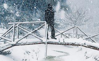 Ισχυρές χιονοπτώσεις, καταιγίδες και πτώση της θερμοκρασίας αναμένονται από το βράδυ της ερχόμενης Κυριακής και για τις επόμενες ημέρες.