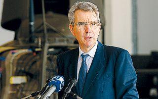 Ο κ. Πάιατ αρνήθηκε τον χαρακτηρισμό «business as usual» για τη στάση που τηρεί η Ουάσιγκτον στην παρούσα φάση.
