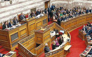 Πεδίο ανάδειξης διαφορών και συγκρουσιακών διαθέσεων αποτελεί η συζήτηση επί των νομοθετημάτων κάθε μορφής, που με μεγάλη πυκνότητα εισάγονται αυτή την περίοδο προς ψήφιση στη Βουλή.