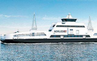 Το ηλεκτρικό ferry boat προέρχεται από μετατροπή παλαιότερου συμβατικού πλοίου. Το κόστος της επένδυσης υπολογίζεται στα 4 με 5 εκατομμύρια ευρώ.