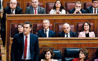 Ο ηγέτης του Σοσιαλιστικού Κόμματος Πέδρο Σάντσεθ θα ηγηθεί κυβέρνησης συνασπισμού βάζοντας τέλος στο πολιτικό αδιέξοδο που ταλαιπωρεί την Ισπανία επί μήνες.