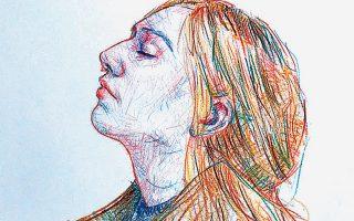 Η Μαρία είναι το μοντέλο στα περισσότερα έργα του Δημήτρη Αγγελόπουλου. Από την ατομική έκθεση στο Κέντρο Τεχνών «Μετς».