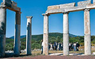 Ο αρχαιολογικός χώρος της Μεσσήνης έχει υποδειγματικά αναστηλωμένα μνημεία και προσελκύει χιλιάδες επισκέπτες κάθε χρόνο, γεμίζοντας τα ταμεία του ΤΑΠΑ.