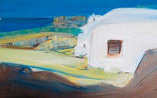 Εκθεση του Αρη Λιάκου με θέμα το ελληνικό τοπίο στο Ιδρυμα Μιχάλης Κακογιάννης.