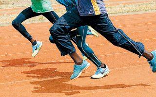 Συγκεκριμένα παπούτσια, όπως υποστηρίζουν οι ειδικοί, μπορεί να βελτιώσουν τα υπάρχοντα ρεκόρ και ήδη τέθηκαν στο... μικροσκόπιο των ανθρώπων της Διεθνούς Ομοσπονδίας Στίβου (φωτ. αρχείου).