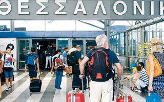 Tο αεροδρόμιο της Θεσσαλονίκης, όπως είναι φυσικό, παρουσίασε τον μεγαλύτερο όγκο κίνησης με συνολικά 6,9 εκατ. επιβάτες (+3,1%) και ακολουθεί το αεροδρόμιο της Ρόδου με πάνω από 5,54 εκατ. (αλλά με αρνητικό πρόσημο, -0,5%).