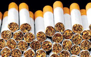 Το 2019 η βιομηχανοποιημένη παραγωγή τσιγάρων μειώθηκε κατά 2%.