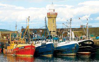 Σήμερα το 60% των ψαριών στα βρετανικά χωρικά ύδατα αλιεύεται από άλλα κράτη-μέλη της Ευρωπαϊκής Ενωσης.