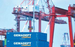 Οι γερμανικές εξαγωγές πλήττονται σε σημαντικό βαθμό, τόσο λόγω του Brexit όσο και του εμπορικού πολέμου ΗΠΑ - Κίνας, παρά την πρόσφατη υπογραφή της προκαταρκτικής συμφωνίας μεταξύ τους.