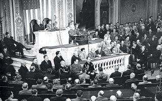 12 Μαρτίου 1947. Ο πρόεδρος Χάρι Τρούμαν σε ομιλία του στο Κογκρέσο ανακοινώνει το ιστορικό Δόγμα Τρούμαν. Τα τελευταία χρόνια, η Ελλάδα επανέρχεται στο επίκεντρο της νέας πολιτικής των ΗΠΑ για την Ανατολική Μεσόγειο.