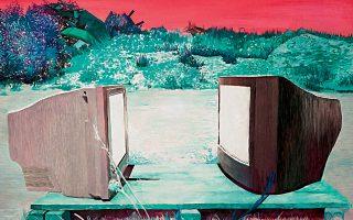 «Δευτέρα απόγευμα». Εργο της Μυρτώς Σταμπούλου. H Γκαλερί Ζουμπουλάκη παρουσιάζει την ατομική έκθεση της καλλιτέχνιδος με τίτλο «The Gruen Effect», την Πέμπτη 16 Ιανουαρίου, στις 8 μ.μ. Πλατεία Κολωνακίου 20.
