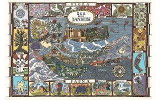 Η νήσος Danseuse. Αναδύθηκε το 1981, 324 χλμ. από την ηπειρωτική Ελλάδα και έκτοτε το νησί συνεχίζει να μεγαλώνει.