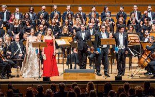 Τρεις από τις έξι καντάτες του «Ορατορίου των Χριστουγέννων» παρουσίασε η Κρατική Ορχήστρα Αθηνών.