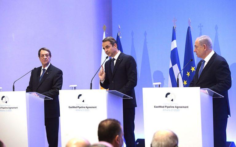 Κυρ. Μητσοτάκης: Ο Εast Med αναβαθμίζει τον ρόλο της Ελλάδας