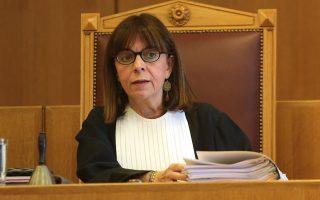 Το δικαστικό αποτύπωμα της Αικατερίνης Σακελλαροπούλου στο ΣτΕ είχε πάντα ως πρόσημο το δημόσιο συμφέρον.