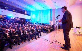 «Η σιγουριά και η αυτοπεποίθηση της ελληνικής πλευράς ίσως να προκαλούν νευρικότητα στην άλλη πλευρά του Αιγαίου», ανέφερε ο πρωθυπουργός.
