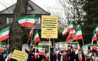 Αντιαμερικανική διαδήλωση στο Βερολίνο