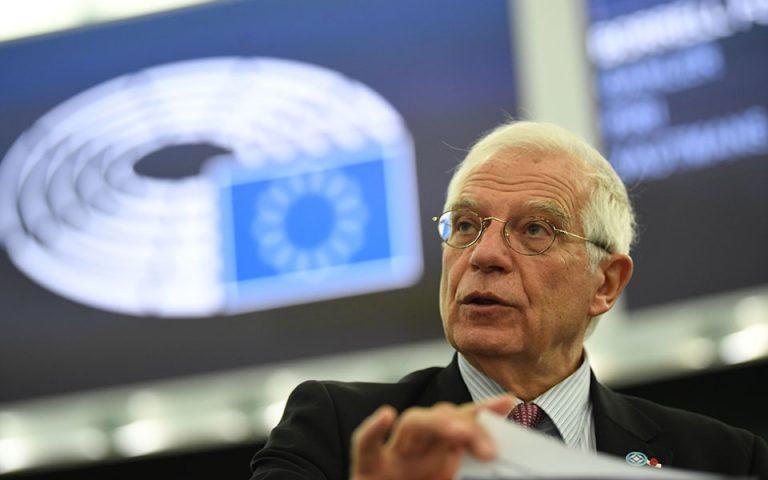 Ζοζέπ Μπορέλ στην «Κ»: «Παράνομη η συμφωνία Τουρκίας και Λιβύης»
