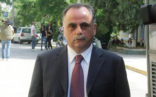 Ο Πρόδρομος Μαυρίδης, πρώην υψηλόβαθμο στέλεχος της Siemens, εξέρχεται μετά την απολογία του από το γραφείο του ανακριτή, Τετάρτη 20 Μαϊου 2009.ΑΠΕ-ΜΠΕ/ΣΥΜΕΛΑ ΠΑΝΤΖΑΡΤΖΗ