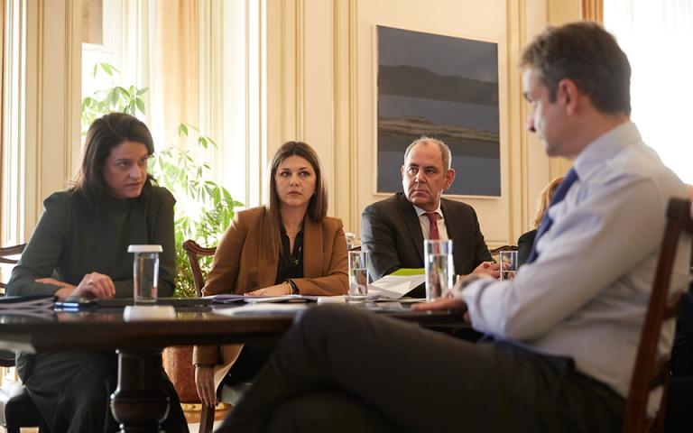 Το σχέδιο για την εκπαίδευση στο επίκεντρο της συνάντησης Κυρ. Μητσοτάκη με την ηγεσία του υπουργείου Παιδείας