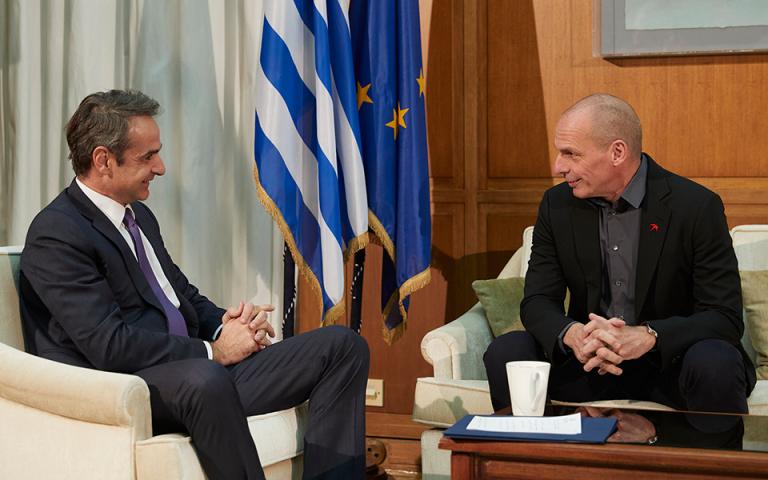 Γ. Βαρουφάκης μετά τη συνάντηση με τον πρωθυπουργό: «Η επίσκεψη στον Λευκό Οίκο έγινε σε λάθος χρόνο»