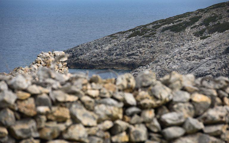 Εντοπίστηκε η μοναδική κάτοικος της Κινάρου μετά την αποστολή ελικοπτέρου στο νησί