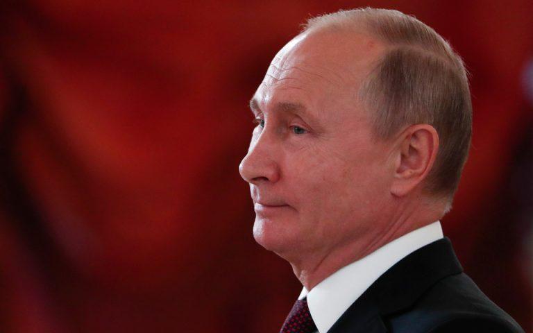 Συγχαρητήρια Πούτιν στη Σακελλαροπούλου για την εκλογή της ως Προέδρου της Δημοκρατίας