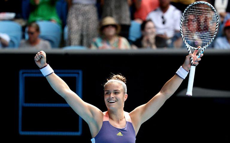 Θρίαμβος Σάκκαρη στο Αυστραλιανό Open – Για πρώτη φορά στους «16»