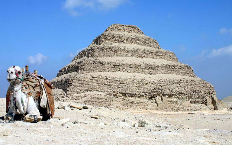 Αίγυπτος: Ανοίγει για πρώτη φορά η κλιμακωτή Πυραμίδα του Ζοζέρ (φωτογραφίες)