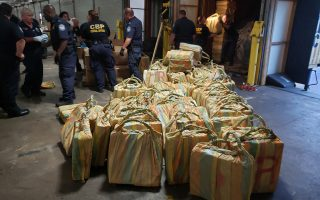 U.S. Customs and Border Protection and Homeland Security Investigations led a multi-agency inspection of the MSC Gayane that resulted in the seizure of about 35,000 pounds of cocaine discovered in seven shipping containers June 17, 2019. The cocaine seizure is a CBP record.