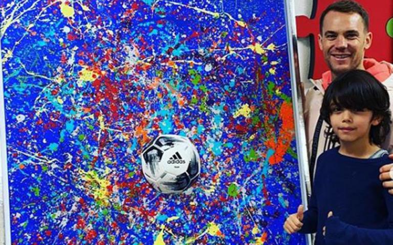 Γερμανία: 7χρονος «Πικάσο» προκαλεί αναταραχή στον κόσμο της τέχνης (βίντεο)