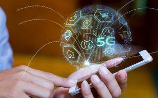 Tο δίκτυο 5G θα αυξήσει την ταχύτητα των δεδομένων κατά τουλάχιστον 100 φορές εν σχέσει με την ταχύτητα που επιτρέπει το σημερινό 4G.
