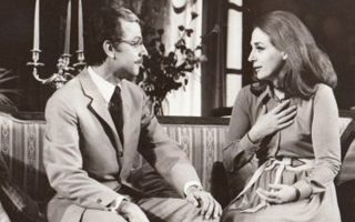 Ο Δημήτρης Τσούτσης σε παράσταση του 1971 με την Ελλη Λαμπέτη.