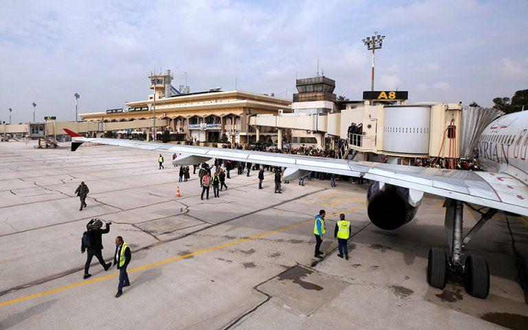Συρία: Επαναλειτούργησε για πρώτη φορά μετά το 2012 το διεθνές αεροδρόμιο του Χαλεπίου
