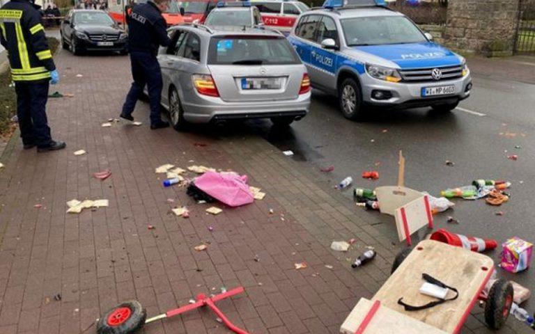 Επίθεση με όχημα σε πεζούς στη Γερμανία: Αγνωστα τα κίνητρα του 29χρονου δράστη