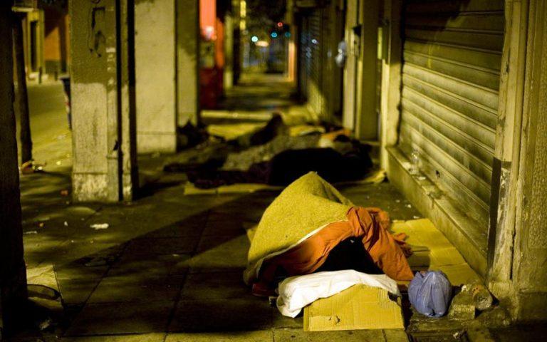 Επιτόπιες δράσεις για τη φροντίδα αστέγων της Αθήνας
