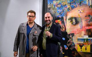 Οι ζωγράφοι Κωνσταντίνος Πάτσιος και Αλέξανδρος Μαγκανιώτης εκθέτουν μαζί στην The Blender Gallery στη Γλυφάδα (έως 15 Φεβρουαρίου). THE BLENDER GALLERY