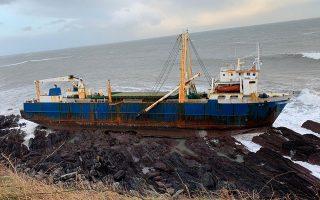 Το πλοίο-φάντασμα «Alta» καθηλώθηκε στις 16 Φεβρουαρίου στις βραχώδεις ακτές της Ιρλανδίας χωρίς ίχνος ζωής.