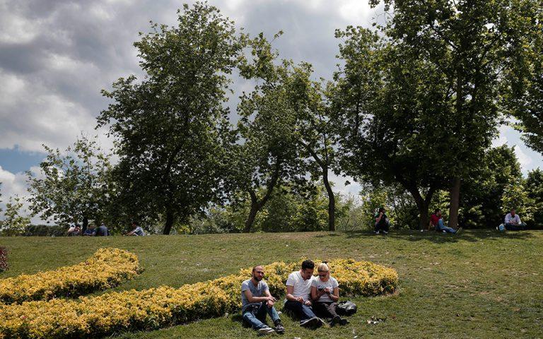 Φάρος ελπίδας το πάρκο Γκεζί