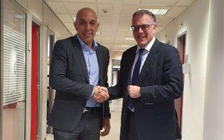 (Από αριστερά προς δεξιά, Δημήτρης Κουτσόπουλος: Διευθύνων Σύμβουλος Deloitte Greece. Βασίλης Λώλας: Πρόεδρος Τομέα Εταιρικών Υποθέσεων της Ελληνικής Εταιρίας Διοίκησης Επιχειρήσεων (ΕΕΔΕ)