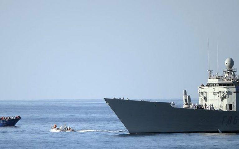 Πολεμικά πλοία της ΕΕ στον έλεγχο του εμπάργκο στη Λιβύη