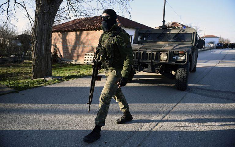 Εβρος: Καταδρομείς, ΜΑΤ και αυξημένες περιπολίες στα σύνορα (φωτογραφίες)