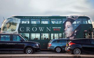 Διαφημιστική αφίσα του Netflix στο Λονδίνο. © B. Dowling, Beata Zawrzel, R. Levine,A. Simoes / Getty Images / Ideal Image