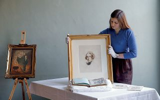 Η «χαμένη» προσωπογραφία είναι ανάμεσα στα νέα αντικείμενα που εξασφάλισε το μουσείο. © Hollie Adams/Getty Images/Ideal Image