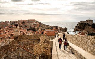 H θέα στην Παλιά Πόλη. (Φωτογραφία: Getty Images/Ideal Image)