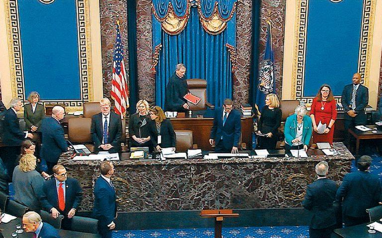 Αθώωση Τραμπ από τη Γερουσία